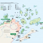 Apostle Islands National Park Map