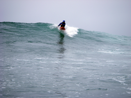 Take off! Surf Kayaking Scripps in San Diego