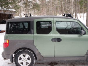 Honda Element Rack