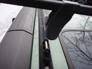 Honda Element Rail Rack Detail
