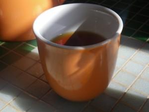 Vanilla Tea in the Shade Waterstreet Coffee Joint