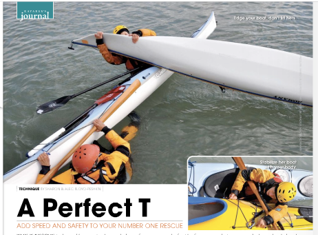 Bloyd Peshkin's Demonstrate a T-Rescue for Adventure Kayak Magazine