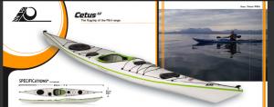 P&H Cetus LV Sea Kayak