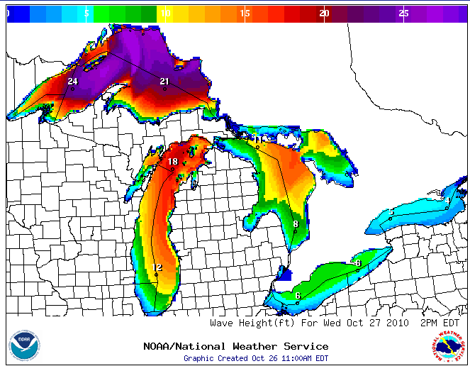 Great Lakes Storm