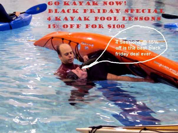 Package Deal For Kayak Pool Sessions 2012 Go Kayak Now