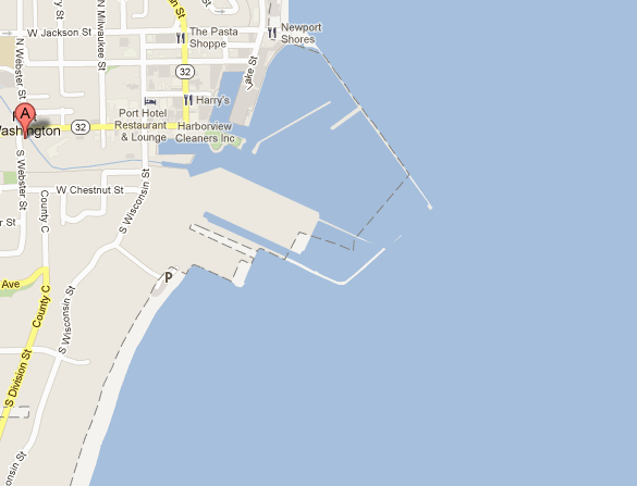 Map of Port Washington