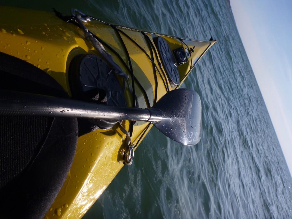 Ikelos bent shaft paddle