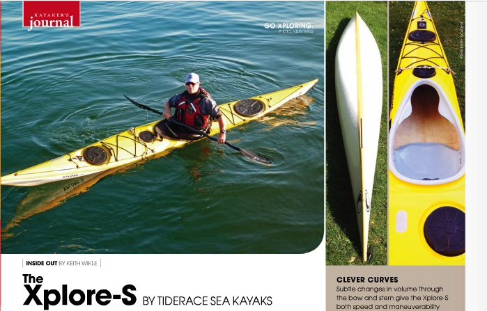 Tiderace Xplore S Kayak Review